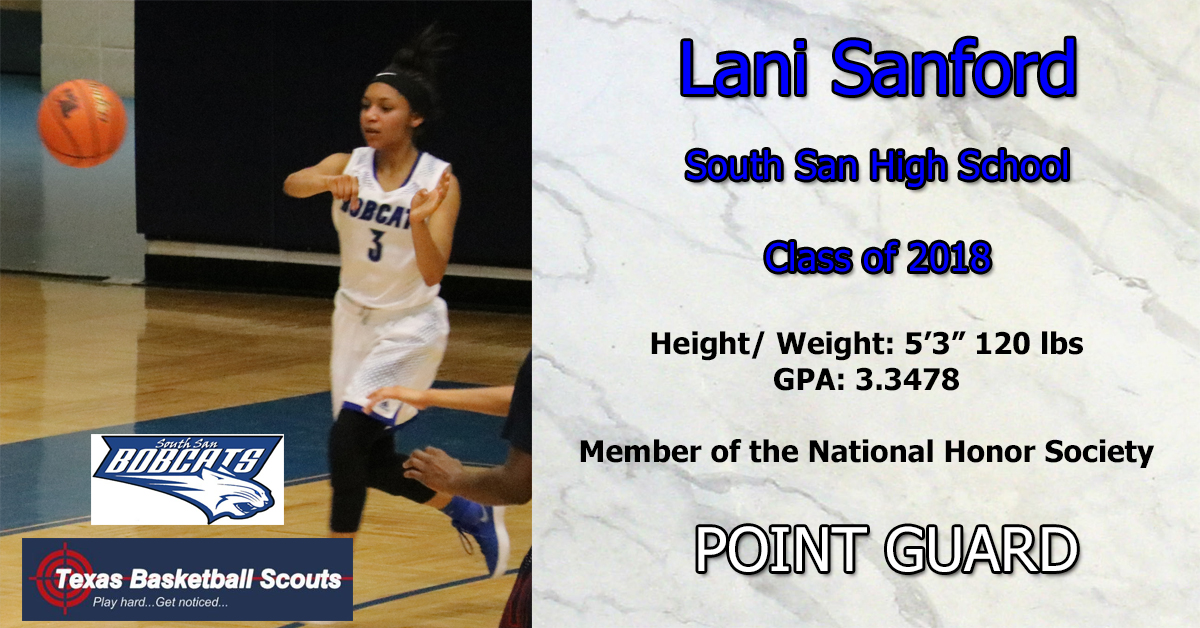 Lani Sanford Profile Details