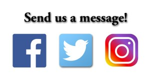 Social Media Icons Message