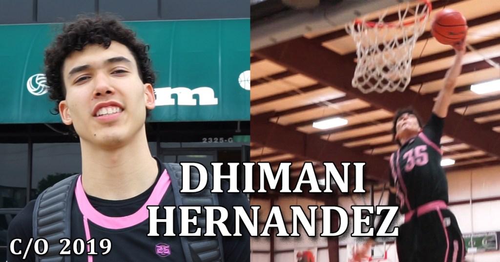 Dhimani Hernandez c/o 2019