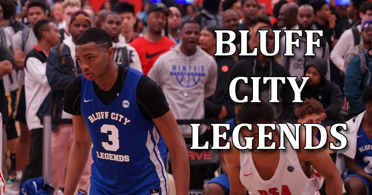 Bluff City Legends 17U Highlights from the Nike EYBL Basketball Tournament in Dallas, TX (2018)