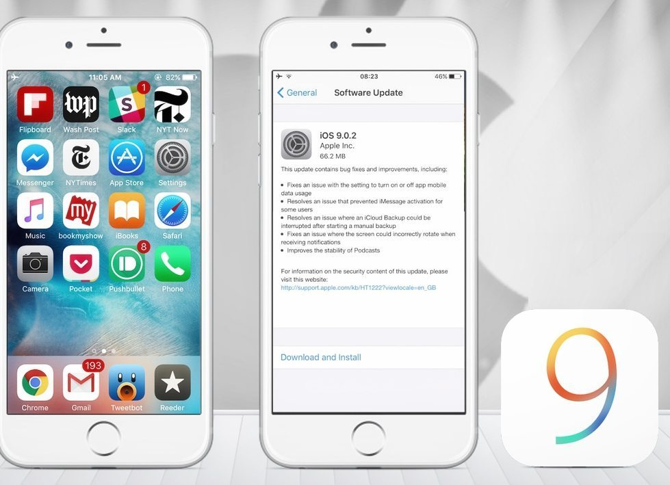 apple iOS 9 Forced Encryption and security