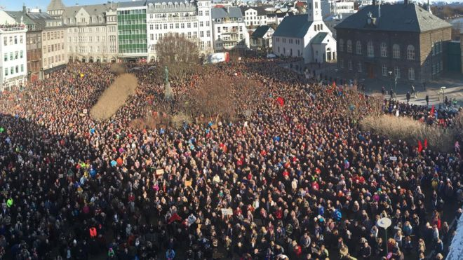 Iceland Protest over the Panama Papers