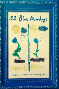 52 Blue Mondays Book Cover Print