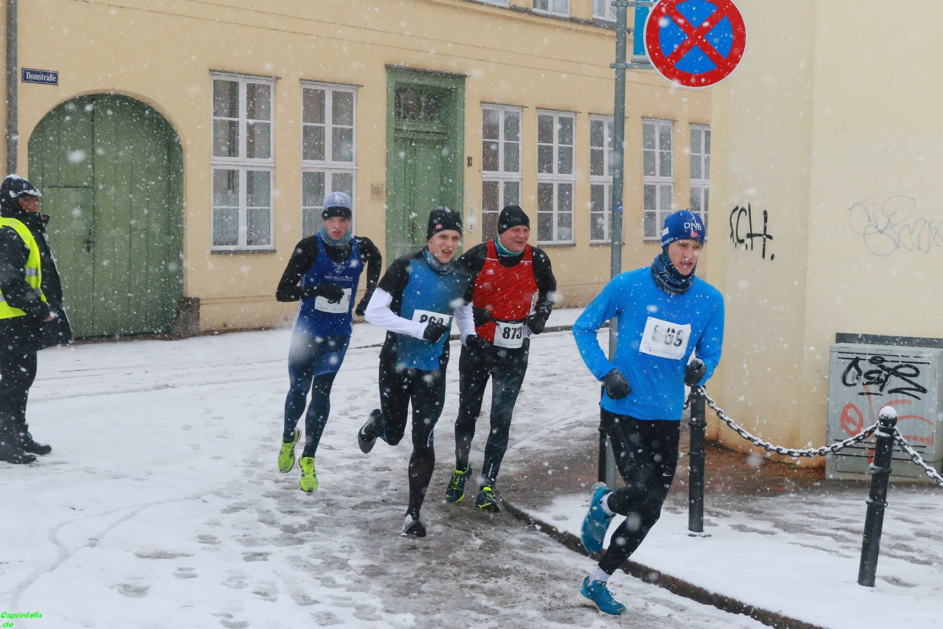 11. Güstrower Osterlauf – Fabian Gering verteidigt Vorjahressieg