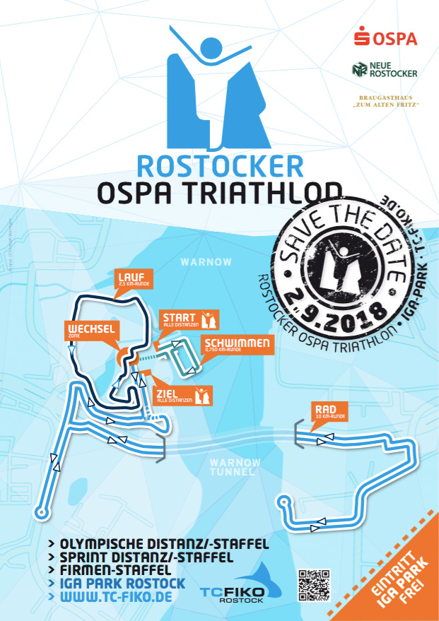 35. Rostocker OSPA Triathlon / 2. September