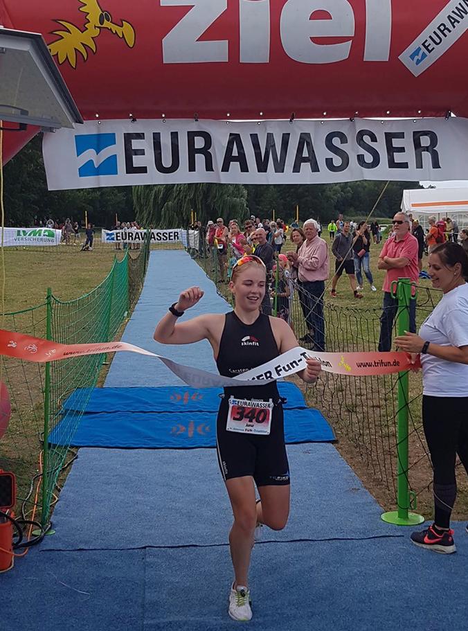 Güstrower Triathlon – Karl Diedrich und Jana Millat holen den Gesamtsieg