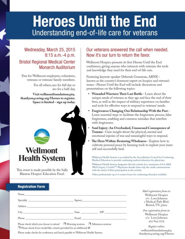 Hospice House Veteran Conference Flyer 2015-2-10.indd