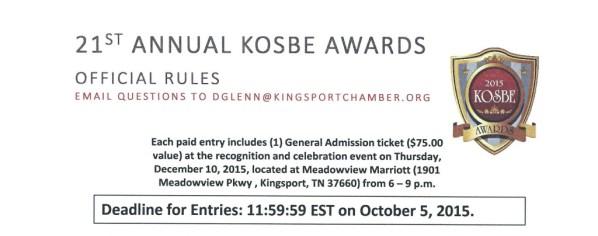 21st KOSBE Awards