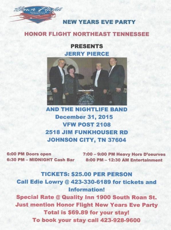 Honor Flight New Year's Eve