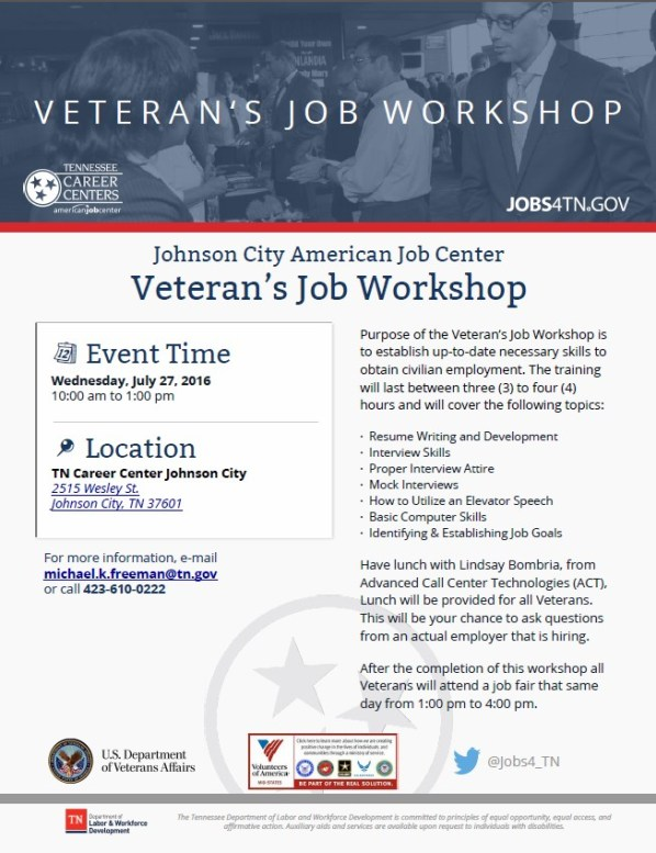 Johnson City AJC Veteran's Job Workshop (2)