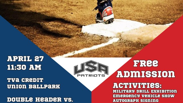 USA Patriots Exhibition Game & Family Fun Fest! April 27
