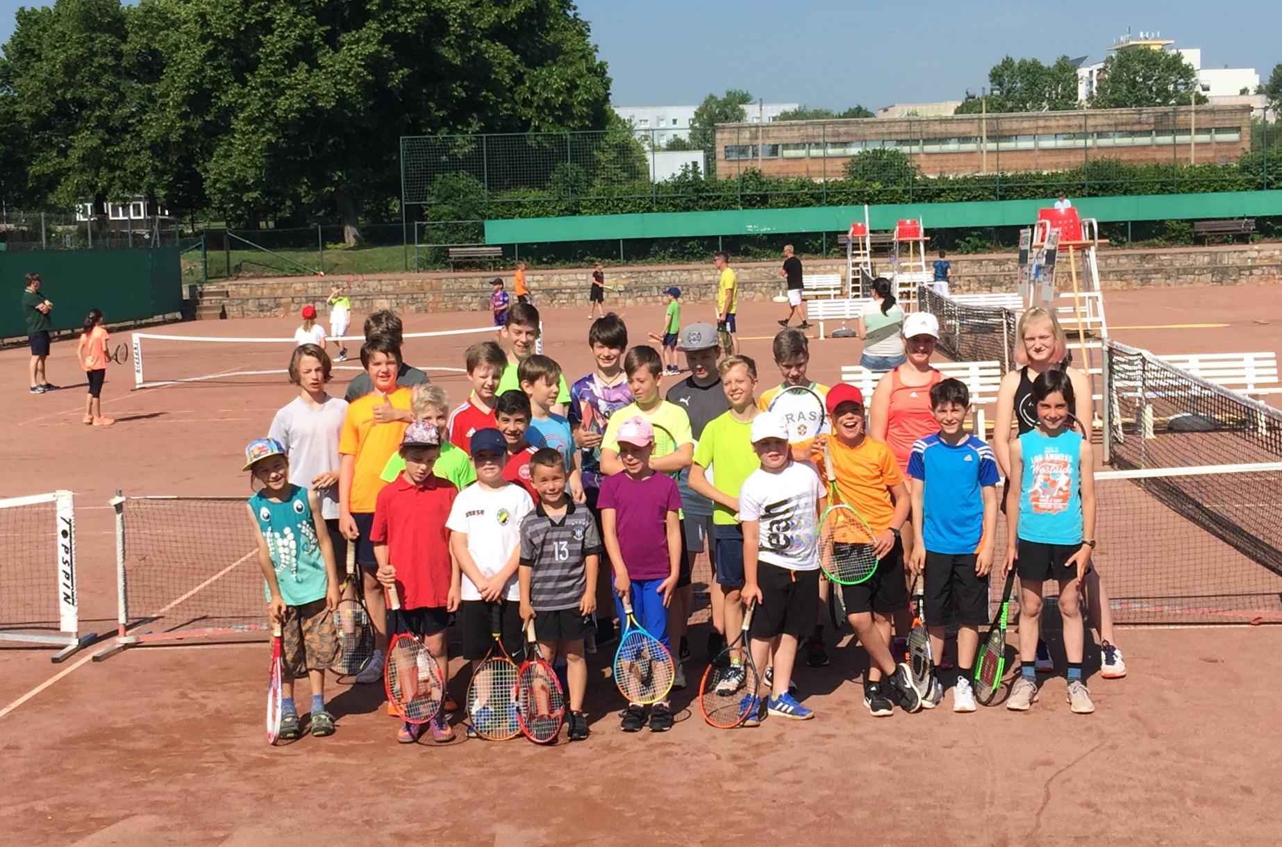7. vereinsinternes Kinder- und Jugendturnier 2018 des Tennis-Clubs Weimar 1912 e.V.
