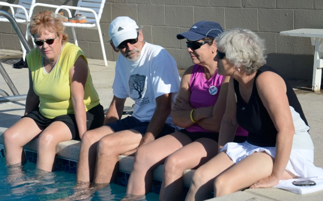 Open House at poolside 2013