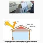 Sử dụng mái lợp cách nhiệt với AHI, IKO và TILCOR