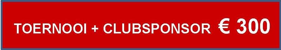 Toernooi +Clubsponsor