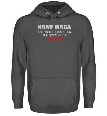 Krav Maga - The Harder You Train... - Unisex Kapuzenpullover Hoodie-1762