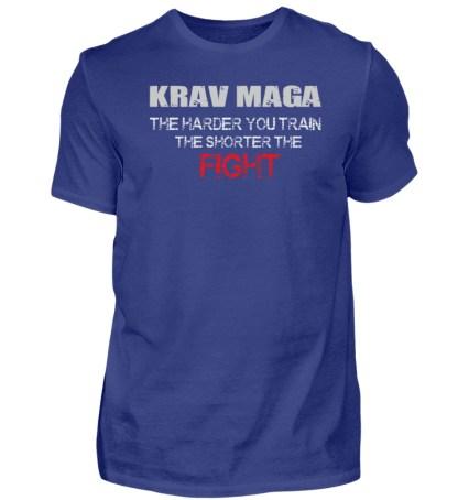 Krav Maga - The Harder You Train... - Herren Premiumshirt-2962
