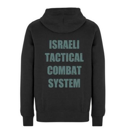 Israeli Tactical Combat System - Unisex Premium Kapuzenpullover-16