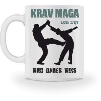 Krav Maga - Who Dares Wins - Tasse-3