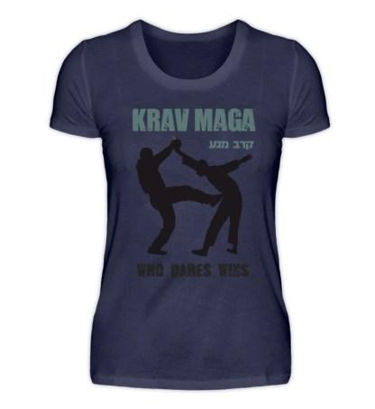 Krav Maga - Who Dares Wins - Damenshirt-198
