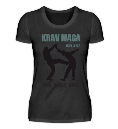 Krav Maga - Who Dares Wins - Damenshirt-16