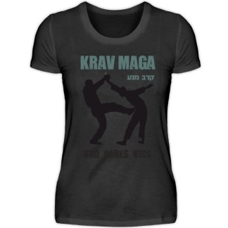 Krav Maga - Who Dares Wins - Damenshirt-16