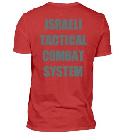 Israeli Tactical Combat System - Herren Shirt-4