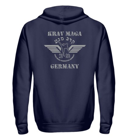 Krav Maga Touch me! And Your First.. - Zip-Hoodie-198
