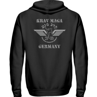 Krav Maga federation Germany Zipper B - Zip-Hoodie-16
