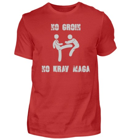 No Groin - No Krav Maga - Herren Premiumshirt-4