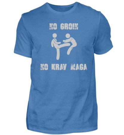 No Groin - No Krav Maga - Herren Premiumshirt-2894