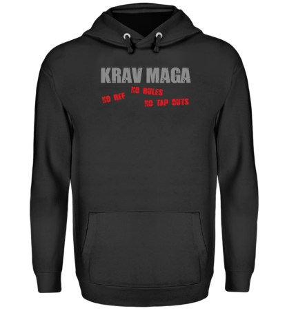 No Ref - No Rules - No Tap Outs - Unisex Kapuzenpullover Hoodie-1624