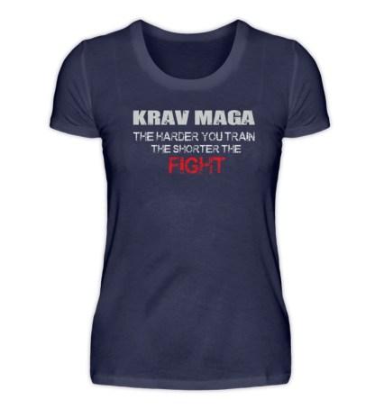 Krav Maga - The Harder You Train... - Damenshirt-198