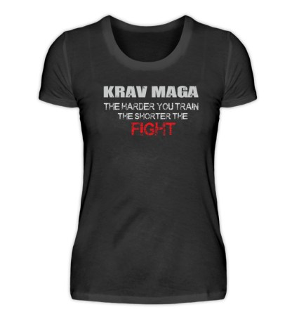 Krav Maga - The Harder You Train... - Damenshirt-16
