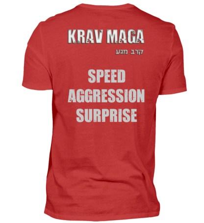 Speed Aggression Surprise - Herren Shirt-4