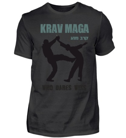Krav Maga - Who Dares Wins - Herren Shirt-16