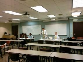 Emory Dru & Quint Debate