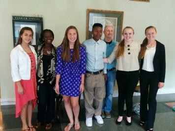 Emory - team with Coach Bellamy