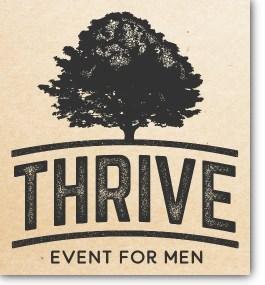 Thrive Men's Event logo