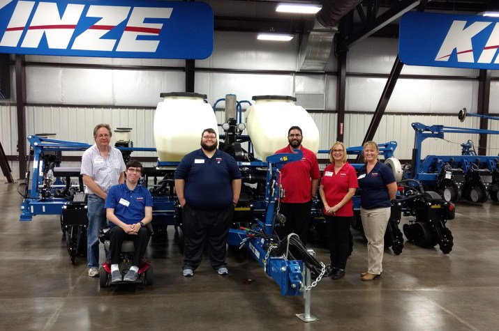 MCC Business Professionals of America students touring Kinze Manufacturing, Inc.