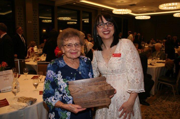 Helen Howe and MCC President Dr. Naomi DeWinter