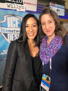 Michelle Kwan and Tara Wellman
