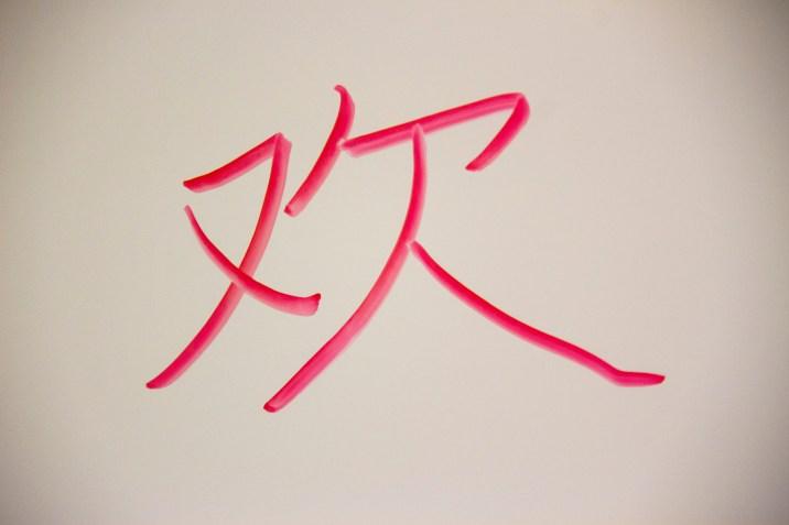 Mandarin Character
