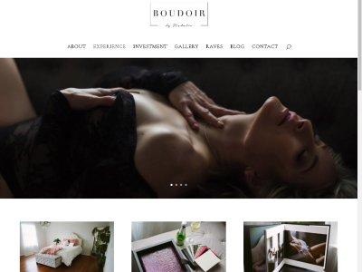 Boudoir by Natalie website image