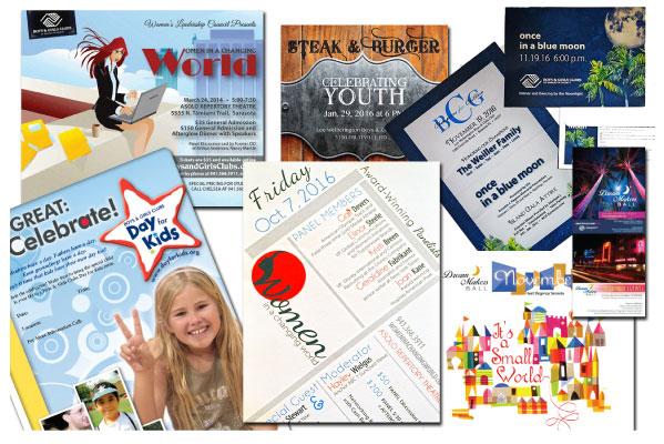 graphic design-invitations