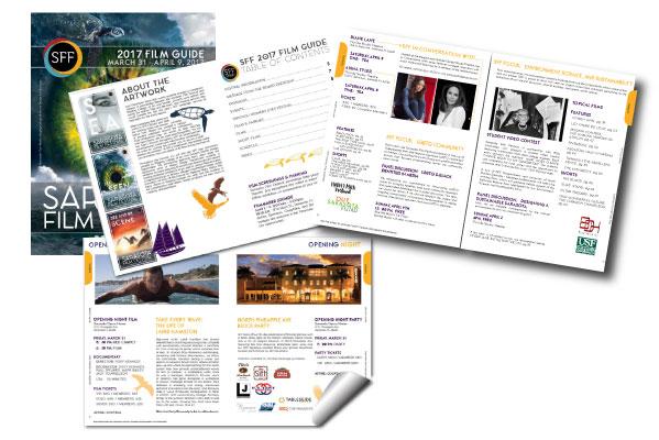 graphic design, tamara chapman, Sarasota Film Festival