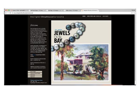 website design, showhouse, tamara chapman, tc designs