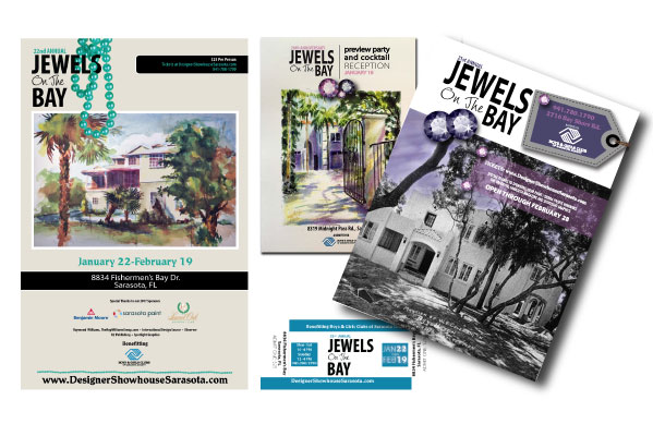 graphic design jewels on the bay