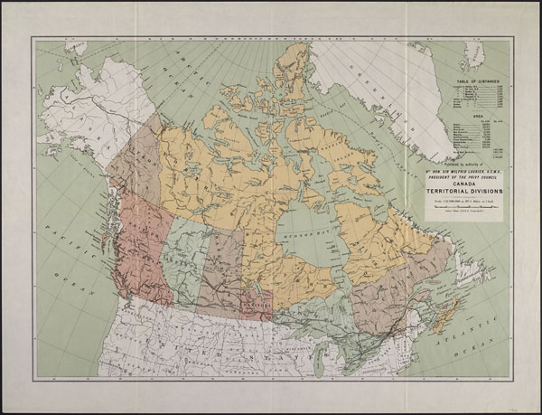 Historical Boundaries of Canada   The Canadian Encyclopedia Early 1900s     Present