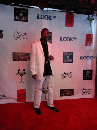Just Poet Robert at Poze Awards